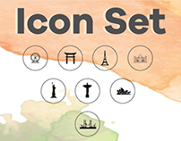 Country Icon set