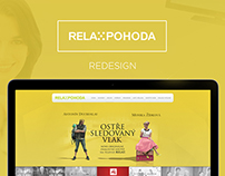 TV Relax Pohoda - Website Redesign