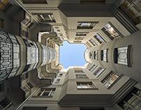 Budapest inner courtyards No.2
