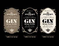 Label Design Vancouver / Gin Labels