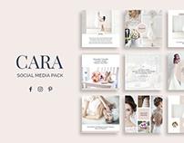 Cara Social Media Pack