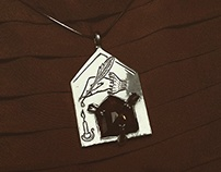Love Letter from a Ghost Lover Pendant