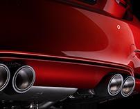REMUS Exhaust system Shakir Orange M4
