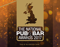 The National Pub & Bar Awards 2017 Collateral