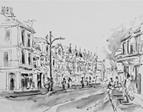 Urban Sketchers May Challenge 2018