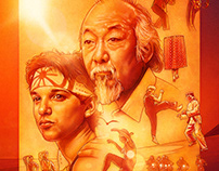 The Karate Kid - Poster/T-shirt