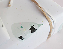 Birthday Seal wrapping paper