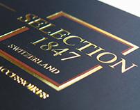"Promotional ticket - ""oro a caldo"" print"