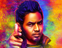 Birthday design for HipHop Thamizha Adhi...