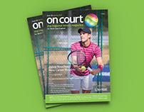 Editorial Design: OnCourt Tennis Magazine