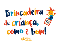 """Shopping Nova América: """"Brincadeira de Criança"""""""