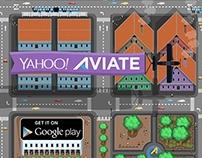 "Yahoo Aviate Contest. ""Finalist"""