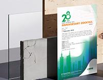 CBRE TAIWAN 28th Anniversary poster