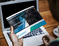 """Enahost"" Promotional Brochure Design"