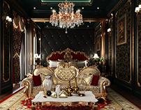 Dark Classic Bedroom