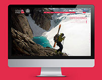 Patagonia Free Wordpress responsive website