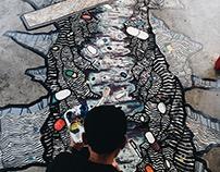 Drugs Valley Mural