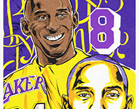 Kobe Bryant Tribute Illustration