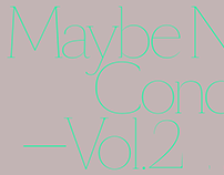 Maybe Noise Concert Vol.2