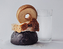 Irving Penn - Bread, Salt and Water (1980)