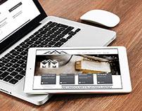 Website Bouwbedrijf MM