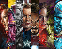 MCU Portrait Series