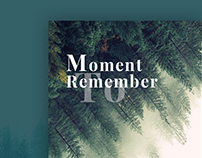 Moment to remember - Diary Application