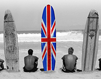 BBC America - Surf The English Channel Campaign