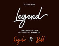 Legend Handwritten Font