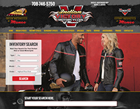Indian Victory Motorcycles of Monee Website Design