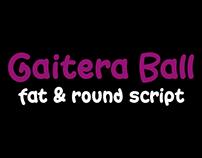 Gaitera Ball -XXL font script-