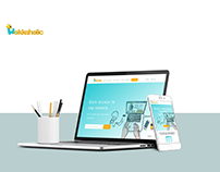 Wokkaholic UI design
