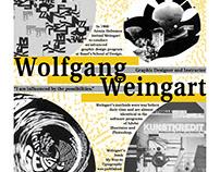 Wolfgang Weingart Inspired Type Poster