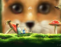 Fox & Bee