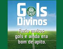 """Promoção """"Gols Divinos"""" TIM - 100 anos do Palmeiras"""