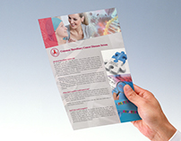 Visual Design for Leaflet Layout Package / DNA TEST