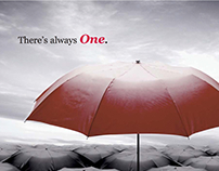 Print ad for Image One.