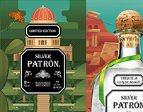 PATRON LIMITED EDITION ISRAEL TIN