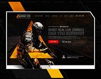 Adventure Combat Ops | Website Design