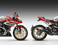 DUCATI DESMOSPIRIT SUPERSPORT S & STREETFIGHTER F