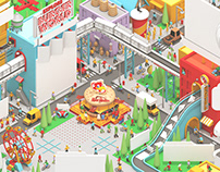 "Red Robin ""Burger World"" Kids Menu"