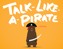 Talk Like A Pirate Bear
