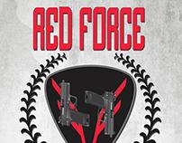 Red Force Tactical Logo Design