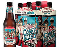 Coney Island Breweries: Home Plate Pale Ale