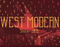 West Modern / Tipografia