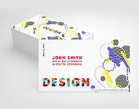Creative Design Business Card Template
