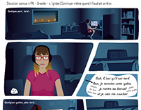 One page Comic Strip