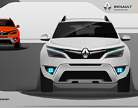 Renault Duster Facelift Concept - X Cross