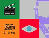 Social Media: Mostra de cinema Walfredo Rodriguez