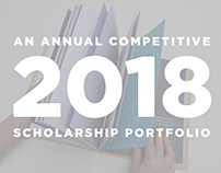 Competitive Scholarship Portfolio 2018